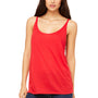 Bella + Canvas Womens Slouchy Tank Top - Red