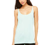 Bella + Canvas Womens Slouchy Tank Top - Mint Green