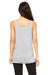 Bella + Canvas 8838 Womens Slouchy Tank Top Heather Grey Back