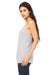 Bella + Canvas 8838 Womens Slouchy Tank Top Heather Grey Side