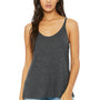 Bella + Canvas Womens Slouchy Tank Top - Heather Dark Grey