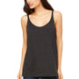 Bella + Canvas Womens Slouchy Tank Top - Charcoal Black Triblend