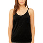 Bella + Canvas Womens Slouchy Tank Top - Heather Black