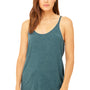 Bella + Canvas Womens Slouchy Tank Top - Heather Deep Teal Blue