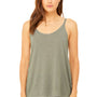 Bella + Canvas Womens Slouchy Tank Top - Heather Stone