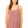 Bella + Canvas Womens Slouchy Tank Top - Mauve