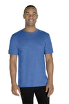 Jerzees 88MR Mens Vintage Snow Short Sleeve Crewneck T-Shirt Heather Royal Blue Front