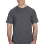 Anvil Mens Charcoal Grey Short Sleeve Crewneck T-Shirt