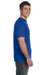 Anvil 980 Mens Short Sleeve Crewneck T-Shirt Royal Blue Side