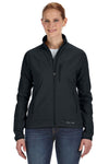 Marmot 98300 Womens Tempo Water Resistant Full Zip Jacket Black Front