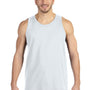 Anvil Mens White Tank Top