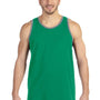 Anvil Mens Heather Green/Grey Tank Top