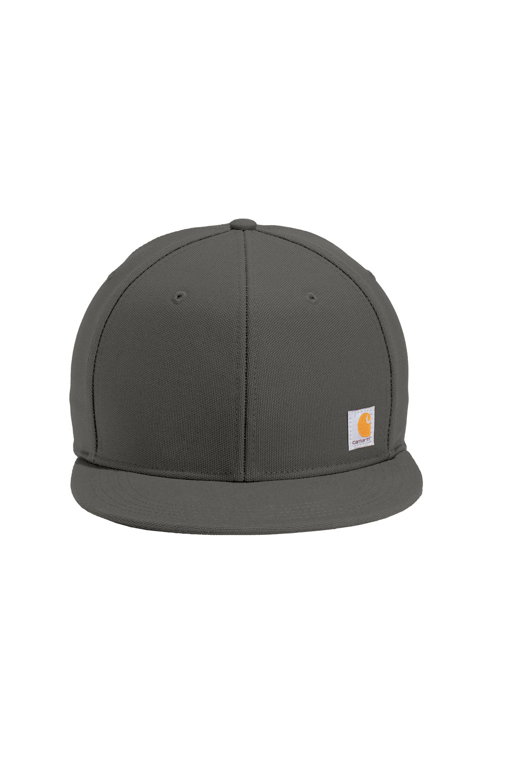 Carhartt CT101604 Mens Ashland FastDry Moisture Wicking Adjustable Hat Gravel Grey Front