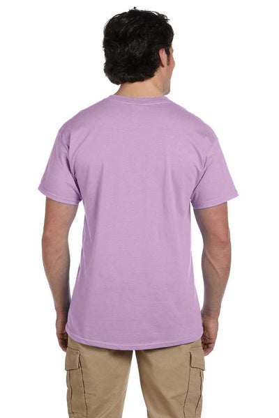 Gildan G200 Mens Cotton Short Sleeve Crewneck T-Shirt Orchid Purple Back