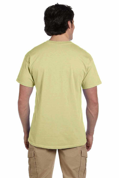 Gildan G200 Mens Cotton Short Sleeve Crewneck T-Shirt Pistachio Green Back