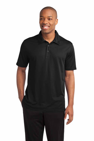 Sport-Tek Mens PosiCharge Polyester Textured Polo Shirt