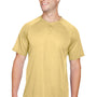 Augusta Sportswear Mens Vegas Gold Attain 2 Button Short Sleeve Baseball Jersey
