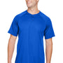 Augusta Sportswear Mens Royal Blue Attain 2 Button Short Sleeve Baseball Jersey