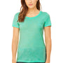 Bella + Canvas Womens Short Sleeve Crewneck T-Shirt - Mint Green