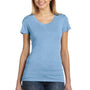 Bella + Canvas Womens Short Sleeve Crewneck T-Shirt - Blue