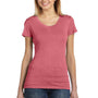 Bella + Canvas Womens Short Sleeve Crewneck T-Shirt - Red