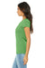 Bella + Canvas B8413 Womens Short Sleeve Crewneck T-Shirt Green Side