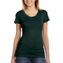 Bella + Canvas Womens Short Sleeve Crewneck T-Shirt - Emerald Green