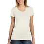 Bella + Canvas Womens Short Sleeve Crewneck T-Shirt - Oatmeal