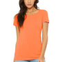 Bella + Canvas Womens Short Sleeve Crewneck T-Shirt - Orange
