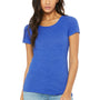 Bella + Canvas Womens Short Sleeve Crewneck T-Shirt - True Royal Blue