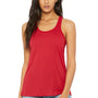 Bella + Canvas Womens Flowy Tank Top - Red
