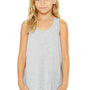 Bella + Canvas Youth Flowy Tank Top - Heather Grey