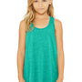 Bella + Canvas Youth Flowy Tank Top - Teal Green