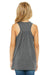 Bella + Canvas B8800Y Youth Flowy Tank Top Heather Dark Grey Back