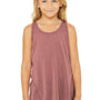 Bella + Canvas Youth Flowy Tank Top - Mauve