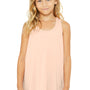 Bella + Canvas Youth Flowy Tank Top - Peach
