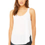 Bella + Canvas Womens Flowy Tank Top - White