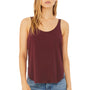 Bella + Canvas Womens Flowy Tank Top - Maroon