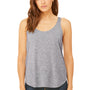 Bella + Canvas Womens Flowy Tank Top - Heather Grey