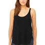 Bella + Canvas Womens Flowy Tank Top - Black
