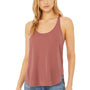 Bella + Canvas Womens Flowy Tank Top - Mauve