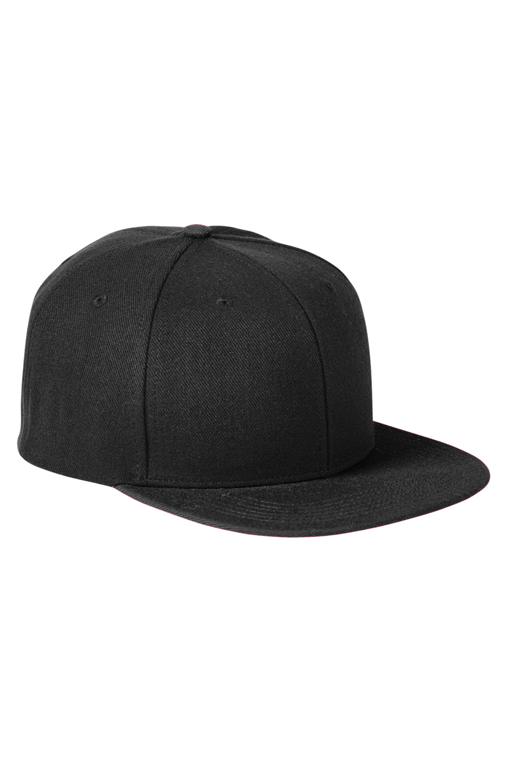 Big Accessories BA539 Mens Adjustable Hat Black Front
