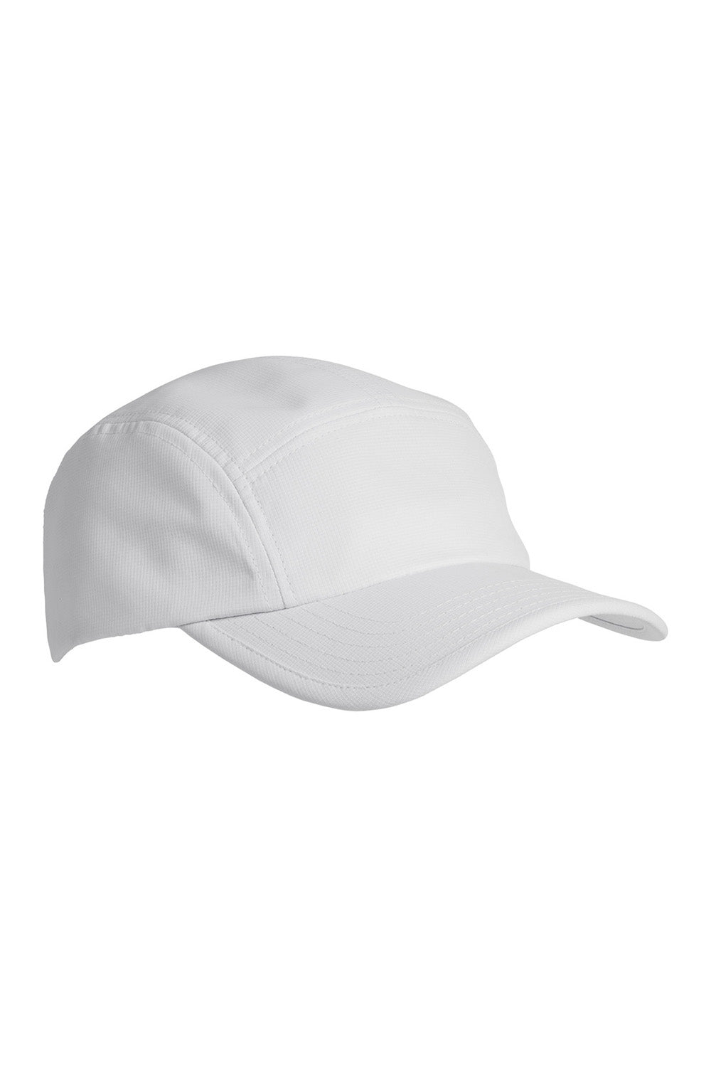Big Accessories BA603 Mens Pearl Performance Adjustable Hat White Front