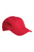 Big Accessories BA603 Mens Pearl Performance Adjustable Hat Red Front