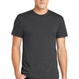 American Apparel Mens Asphalt Grey Short Sleeve Crewneck T-Shirt