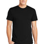 American Apparel Mens Black Short Sleeve Crewneck T-Shirt