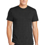 American Apparel Mens Heather Black Short Sleeve Crewneck T-Shirt