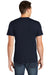 American Apparel BB401W Mens Short Sleeve Crewneck T-Shirt Navy Blue Back