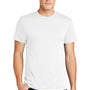 American Apparel Mens White Short Sleeve Crewneck T-Shirt