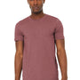 Bella + Canvas Mens Jersey Short Sleeve Crewneck T-Shirt - Heather Mauve